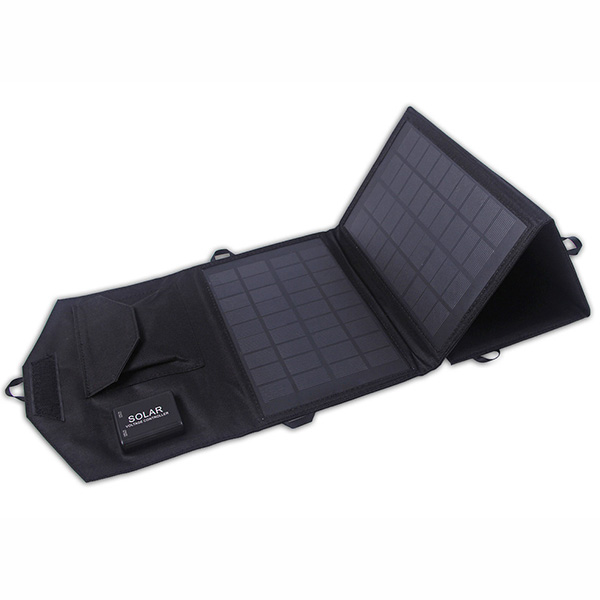 14watt Dual USB solar foldable charger