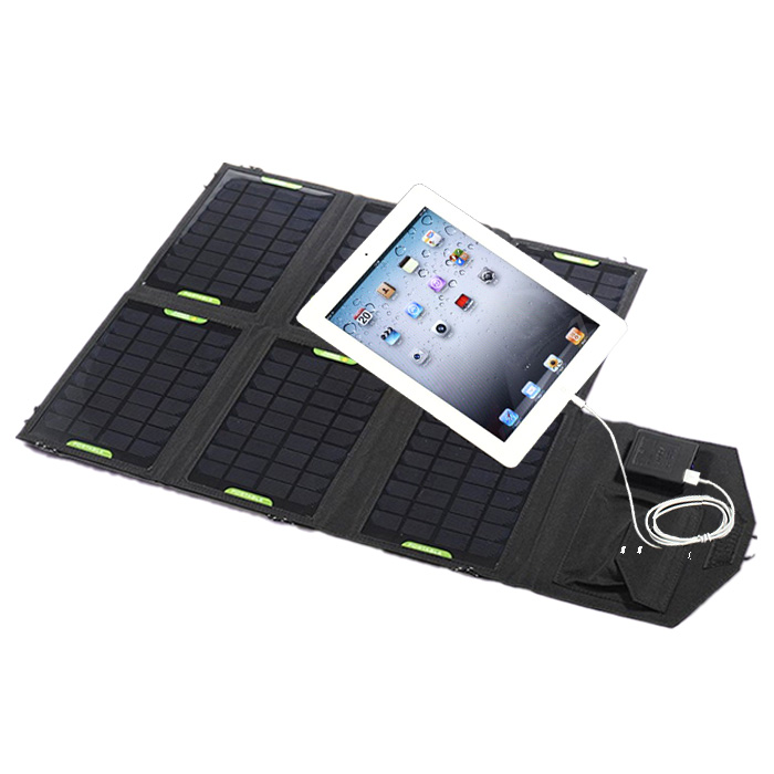 21watt Dual output portable solar charger