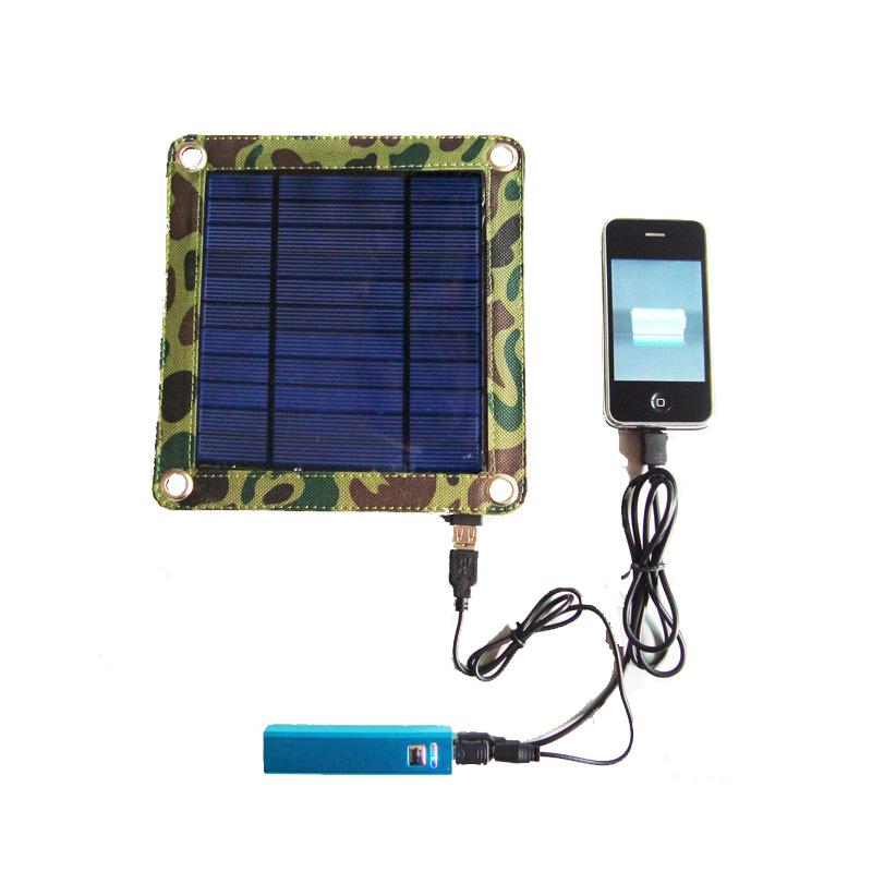 portbale mini 3watt solar bag charger kit