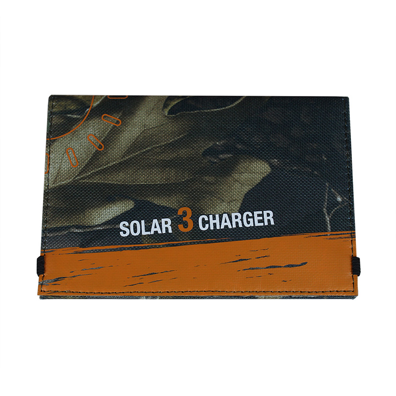 3watt foldable solar bag charger with voltage controller can directly charge iphone EM-303B
