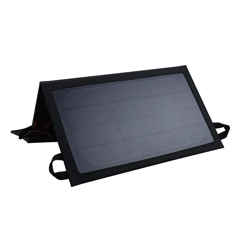 7watt monocrystalline solar bag charger with USB controller EM-707B
