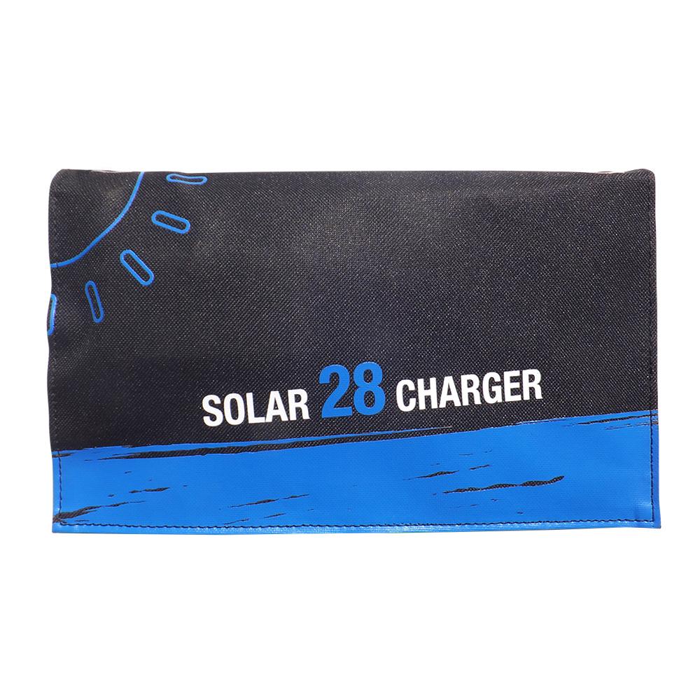 3USB poart 28watt solar foldable charger bag EM-028D