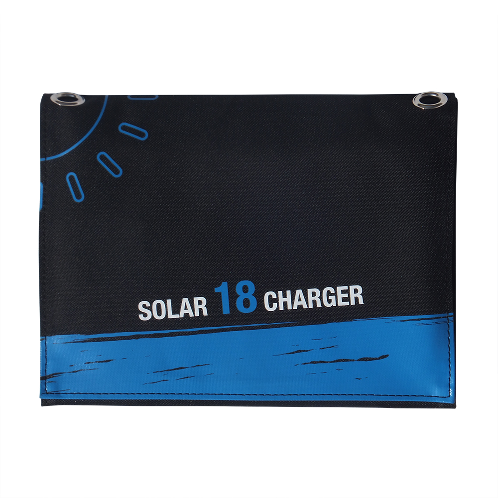 18watt dual USB port solar bag charger EM-018D