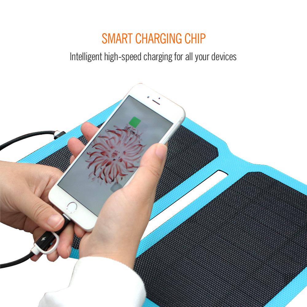 10watt ETFE solar panel charger