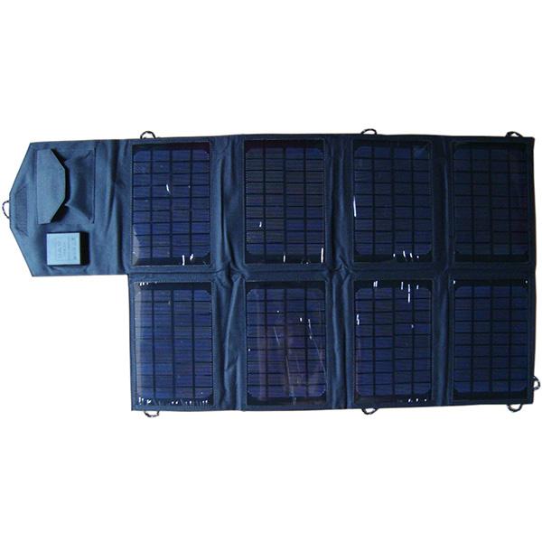 28watt Dual solar laptop charger