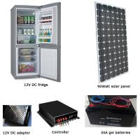 EM-BCD150 150L fridge/freezer + 90W solar panel + 70AH battery set